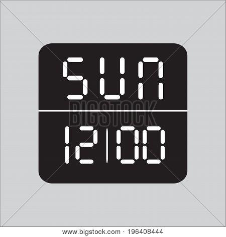 clock, stopwatch Icon, Vector, clock, clock Icon in background, illustrator, hour