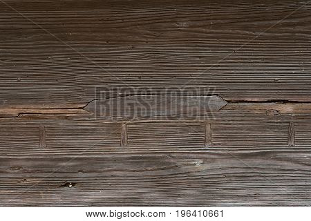 Closed-up Wood texture with crack for background.