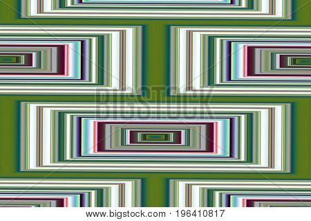 Abstract geometric background 5. Symmetric color pattern from rectangles.