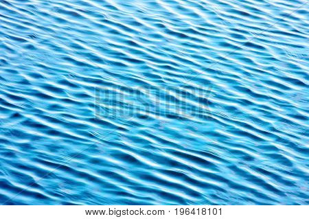 Water background. Beautiful wave water river surface