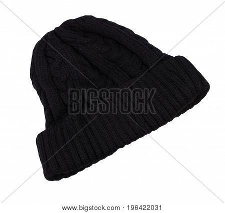 image of one Warm Men black Cap