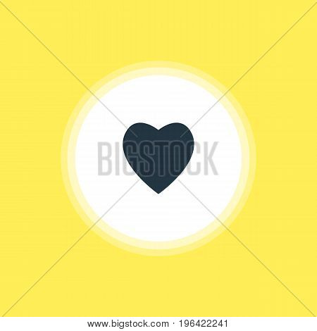Beautiful Web Element Also Can Be Used As Love Element. Vector Illustration Of Heart Icon.