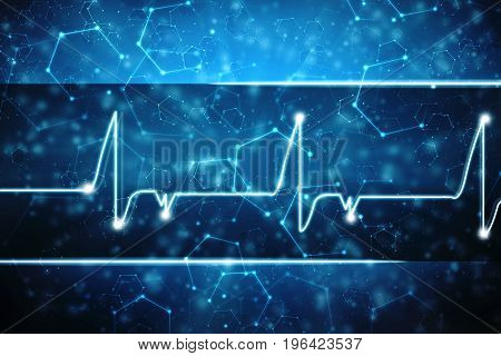 Medical abstract background, Scientific background. Heath care background