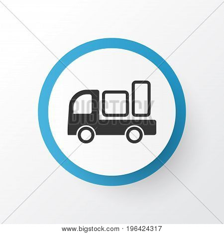 Shipping Icon Symbol. Premium Quality Isolated Delivery Element In Trendy Style.