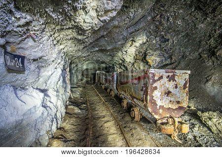 Mining And Chemical Enterprise Polimineral In Stebnyk, Ukraine