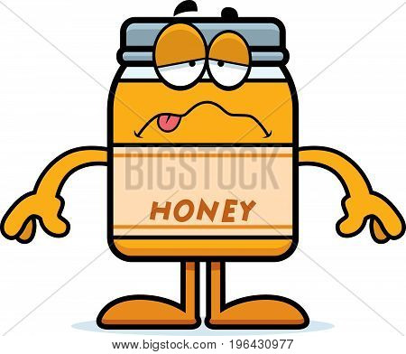 Sick Cartoon Honey Jar