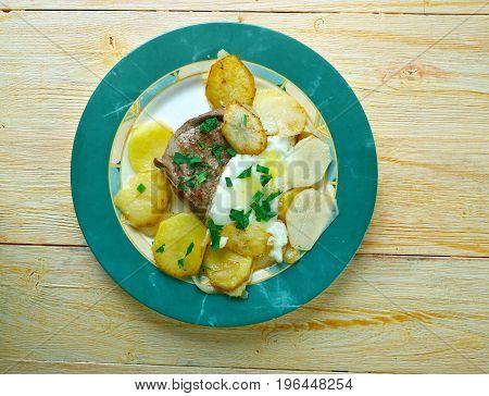 Portuguese Style Steak
