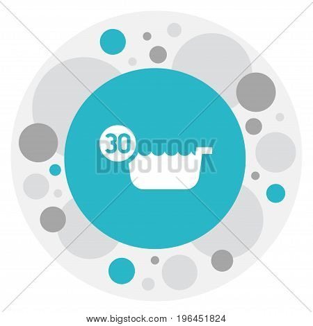 Vector Illustration Of Cleanup Symbol On 30 Degrees Icon