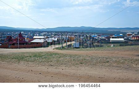 Khuzhir Settlement.