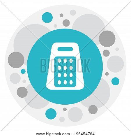 Vector Illustration Of Apparatus Symbol On Grater Icon
