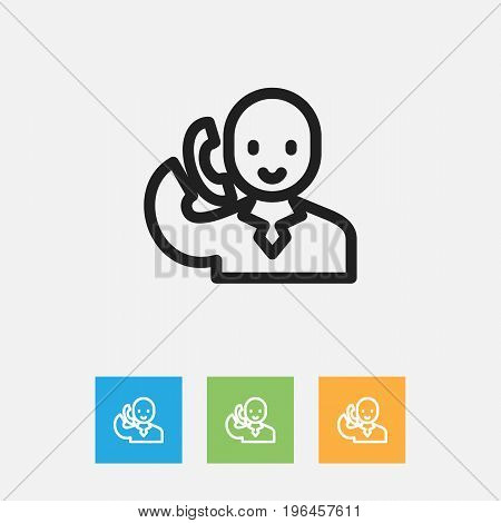 Vector Illustration Of Shopping Symbol On Speech Outline