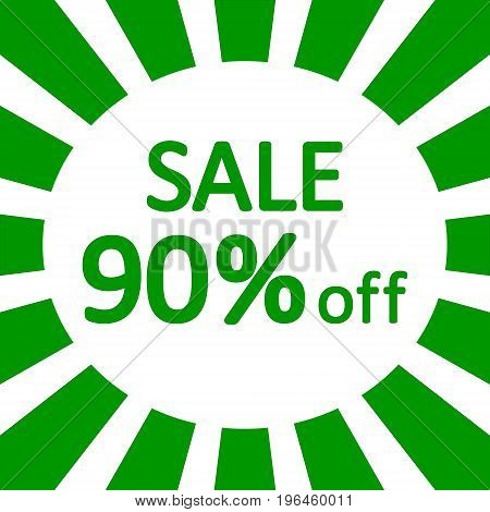 Store sale background banner design. Vector illustration.