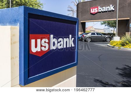 Las Vegas - Circa July 2017: U.S. Bank and Loan Branch. US Bank is ranked the 5th largest bank in the United States IV