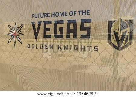 Las Vegas - Circa July 2017: Vegas Golden Knights new practice facility The Knights are the latest NHL expansion team and will begin play in 2017 II