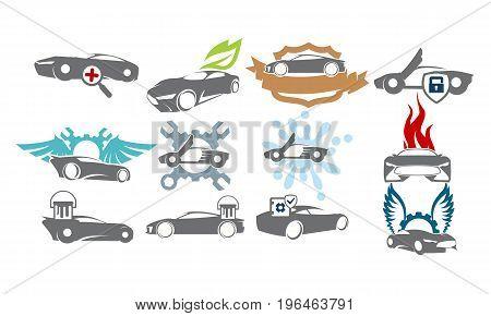 Car Service Bundle Set Collections34