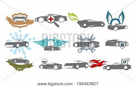 Car Service Bundle Set Collections38