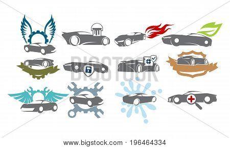 Car Service Bundle Set Collections41