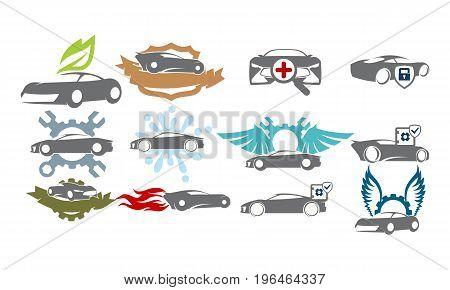 Car Service Bundle Set Collections42