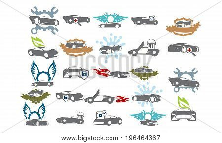 Car Service Bundle Set Collections45