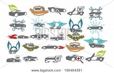 Car Service Bundle Set Collections47
