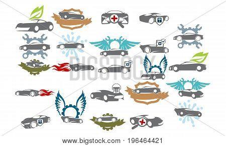 Car Service Bundle Set Collections50