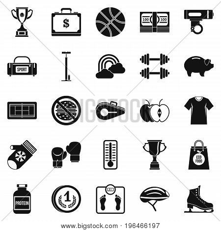Women health icons set. Simple set of 25 women health vector icons for web isolated on white background