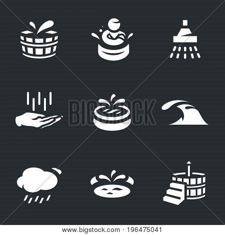 Wooden basin, person, shower, washing hands, swimming pool, sea, rain, japanese bath.