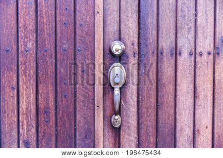 Door Handle Chrome Door Knob,door Lock Safety House Concept