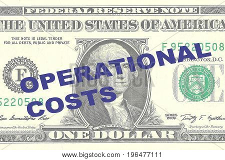 Operational Costs - Financial Concept