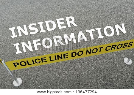 Insider Information Concept