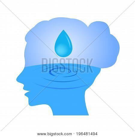 moisturizer in women face icon vector .