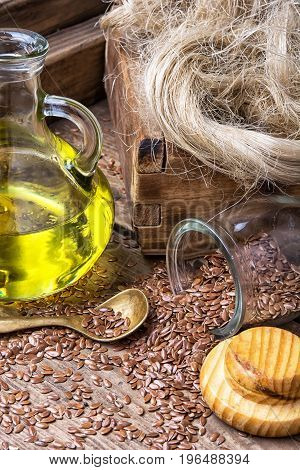 Linseed Oil And Linseed