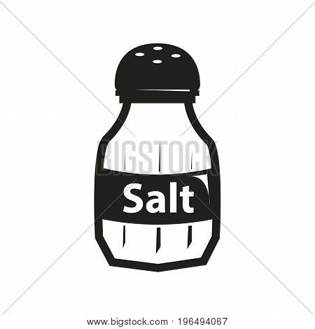 salt shaker isolated on white background salt shaker isolated on white background