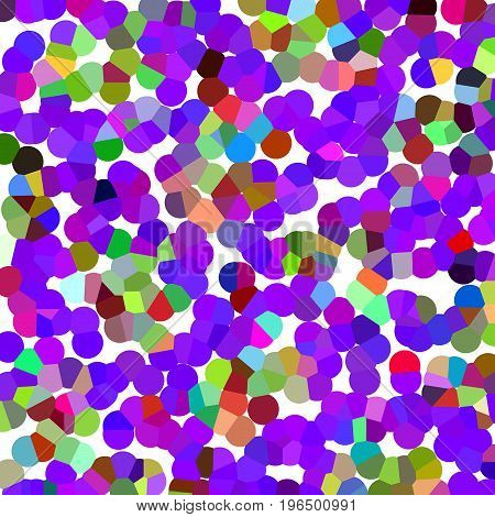 Abstract background of color points for design projects. . Background of Art bubbles in halftone style with color.