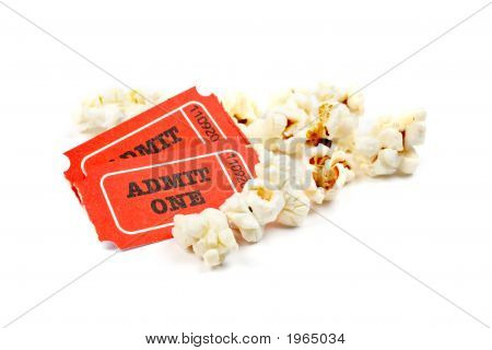 Popcorn And Two Tickets