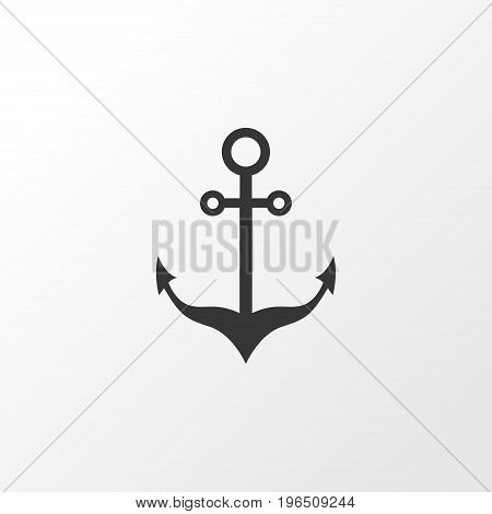 Anchor Icon Symbol. Premium Quality Isolated Armature Element In Trendy Style.
