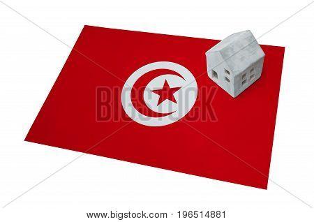 Small House On A Flag - Tunisia