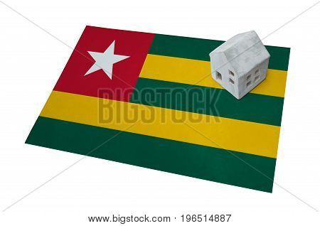 Small House On A Flag - Togo