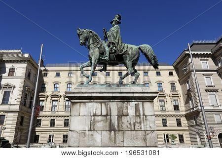 Carl Schwartzenberg Statue