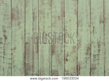 vintage old turquoise wood texture for background.