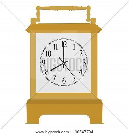 Carriage Clock Vector