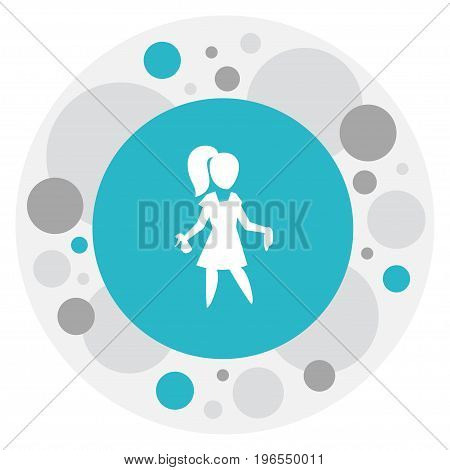 Vector Illustration Of Cleanup Symbol On Beauty Housewife Icon