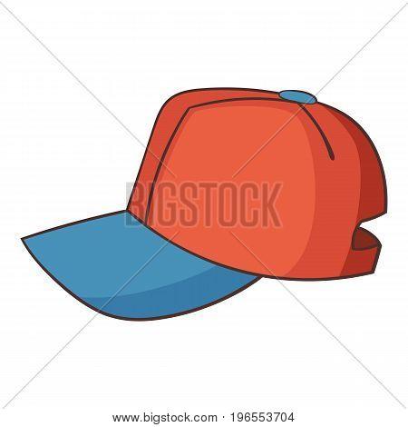 Cap icon. Cartoon illustration of cap vector icon for web design