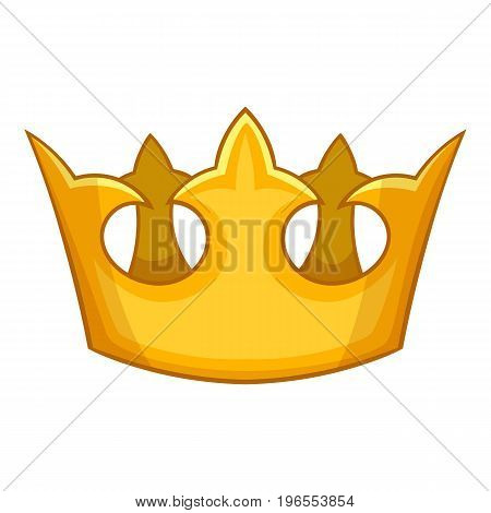 Viscount crown icon. Cartoon illustration of viscount crown vector icon for web design