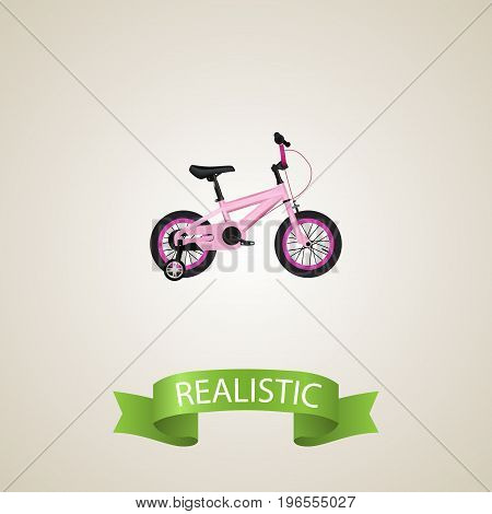 Realistic Kids Element. Vector Illustration Of Realistic Childlike  Isolated On Clean Background