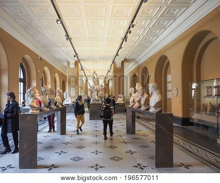 Victoria And Albert Museum In London
