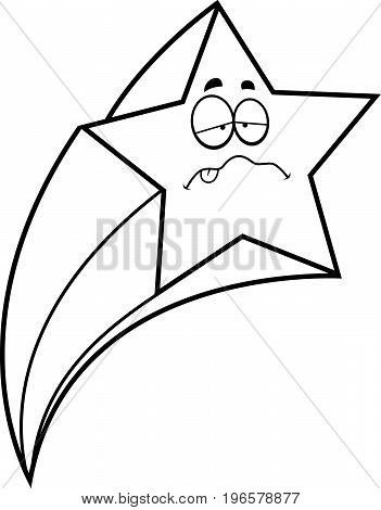 Sick Cartoon Shooting Star