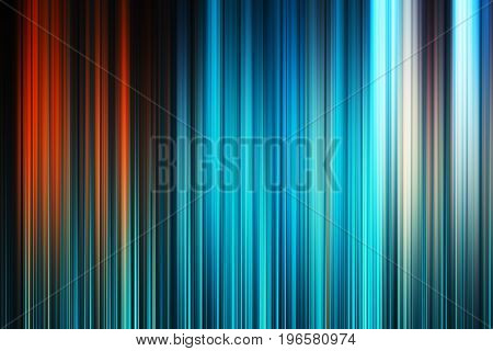 Vertical cyan and red motion blur background hd