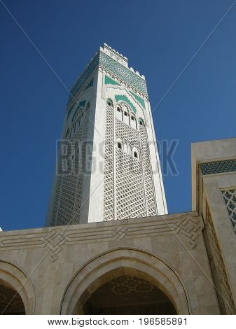 Mosquée Hassan II Casablanca Maroc architecture religion