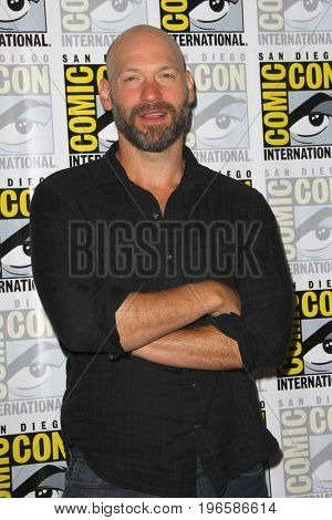 SAN DIEGO - July 20:  Corey Stoll at the Comic-Con Day One at the Comic-Con International on July 20, 2017 in San Diego, CA